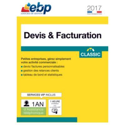 ebp devis et facturation classic 2017